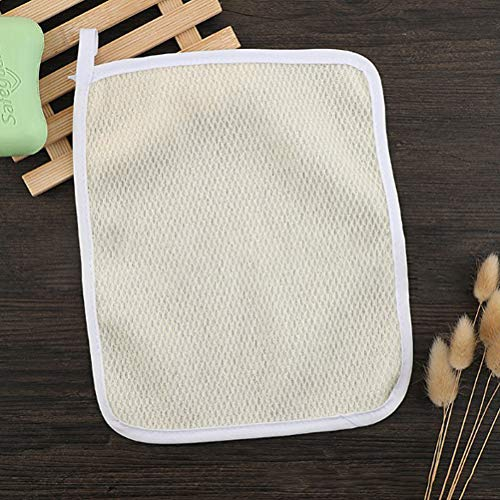 8Pack Exfoliating Nylon Terry Cloth Soft-Weave Wash Cloths Massage Bath Cloth for Women and Man Skin Care, Shower Scrubber, Remove Dead Skin, Beauty Skin Home Massage Bath Cloth Photo #5