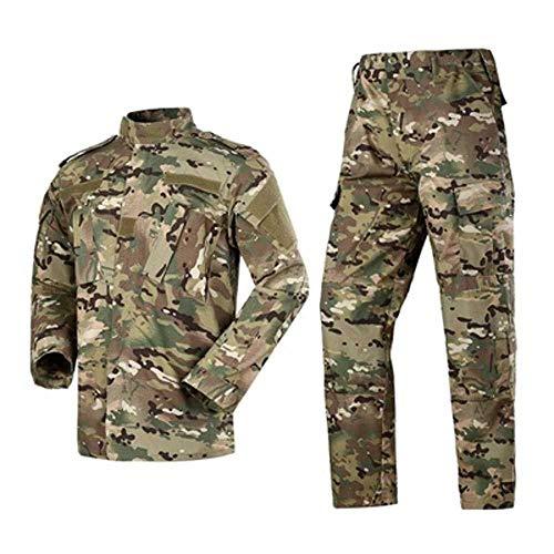 Militär-Kampfanzug 2020 Militär-Camouflage Multicam Anzug Kleidung Taktische Airsoft Paintball Ausrüstung Gr. Medium, CP
