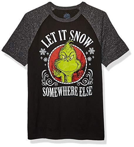 Dr. Seuss Unisex-Erwachsene Ugly Christmas T-Shirt, Sonstiges/Schwarz, Groß