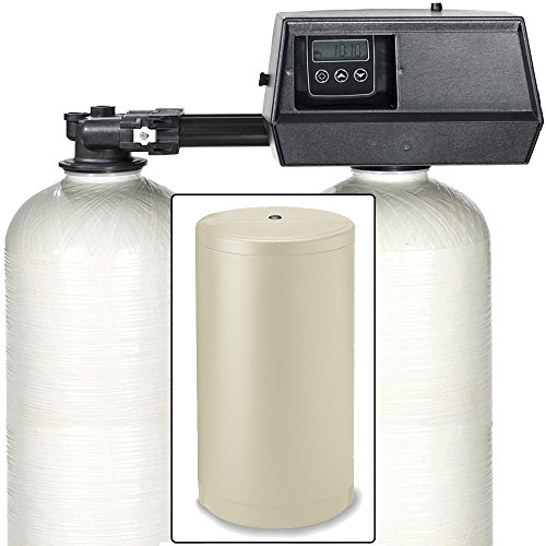 110k Digital Dual Alternating Tank IRON PRO Water Softener with Fleck 9100SXT (3/4')