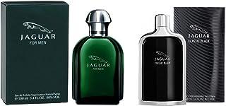 Set Of 2 Pieces Jaguar Green by Jaguar for Men Eau de Toilette 100ml With Classic Black by Jaguar for Men Eau de Toilette ...