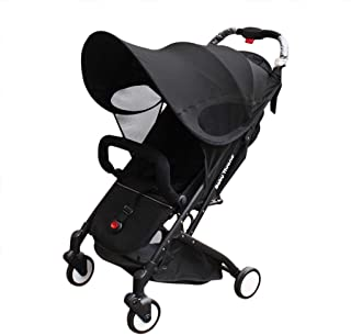 Baby Stroller Sun Shade Sun Protection Pram for Strollers Car Pushchair Buggy Sunshade Parasol Sun Rain Canopy Cover Protection Stroller Accessories Awning Anti-UV Umbrella Sun Shade