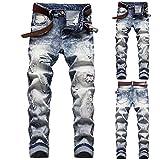 Zoom IMG-1 alphahope jeans da uomo elasticizzati