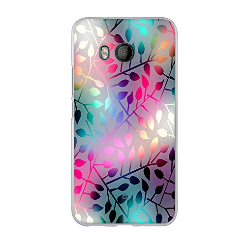 FUBAODA, Hülle für HTC U11, Ultra Dünn Soft Silikon Schutzhülle, Elegantes Kunstdesign[Halbdurchsichtige Glasblume] Hochwertige Gummi Schutzhüllen, Handyhülle für HTC U11 (5.5