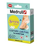 Medrull Estéril Transparente e Impermeable Cosmetic Patches Set CRACKED HEELS Apósitos