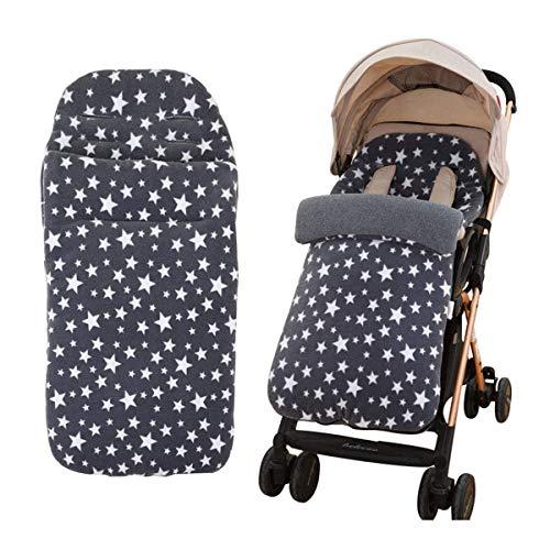 Manta de cochecito de bebé, ANSUG Manta Saco de Dormir para Recién Nacido Saco Cochecito Bebe Polar Interior Térmico para bebés o niños de 0-12 meses