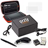 3DSXL Accessories, Orzly Ultimate Starter Pack for 3DS XL or New Nintendo 3DS XL (Bundle Includes: Car...