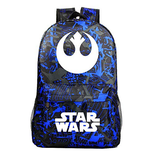 Star Wars Casual Backpack Lightening Backpack Waterproof Daypack Western Style Schoolbag for Boys and Girls for Boy and Girl (Color : A33, Size : 31 X 18 X 47cm)