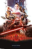 Trends International Star Wars: The Rise Of Skywalker - Group Wall Poster, 22.375' x 34', Multi