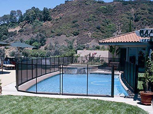 Gre 779700 - Barrière de sécurité pour piscine, hauteur 1,25 m