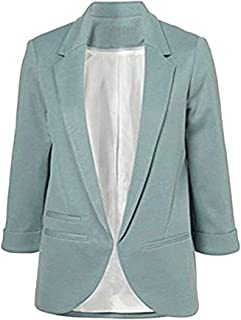 Guiran Womens Blazer Wedding Occasion Jacket Ladies Blazers Cardigan Jackets Elegant