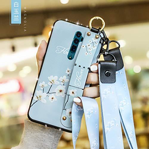 Custodia® Fermezza e Flessibilità Smartphone Custodia per OPPO Reno 10x zoom(1)