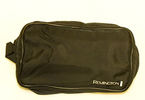 Remington Deluxe Zippered Canvas Shaver and Toiletries Travel Bag
