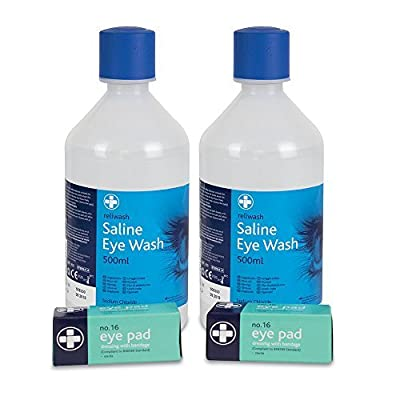 Reliance REL932 Eyewash Refill Pack from Reliance Medical
