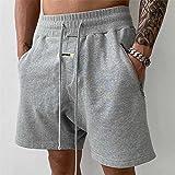 ShSnnwrl Pantalones Cortos de Hombre Pantalones Cortos de Malla Pantalones Cortos de impresión Pantalones Cortos Sueltos OC