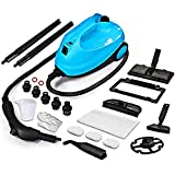 MLMLANT SC541 Steam Cleaners, Multipurpose Multi Purpose Mop, Powerful Steamer for Upholstery, Home and Windows, Carpet, Bed Bug, Cooker, Kitchen (2000W,1500ML,20 Accessories)