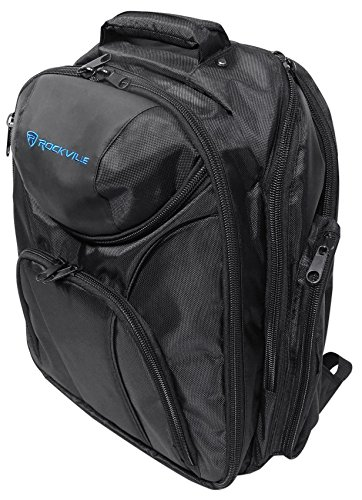 Rockville Travel Case Backpack Bag For Yamaha EMX5 Mixer