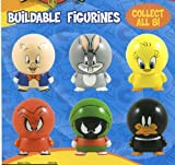 Looney Tunes Cake Topper Buildable Figures Set of 8 Cake Topper Figurines