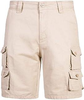 Macondoo Men Multi Pocket Straight Army Rugged Men Utility Casual Cargo Shorts