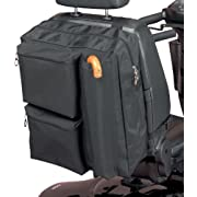 Homecraft Deluxe Scooter Bag, Zipped Pockets for Padded Storage, High Quality Waterproof Polyester, Storage for Crutches & Walking Sticks, (Eligible for VAT relief in the UK)