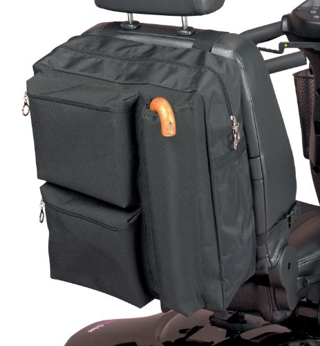 Homecraft Deluxe Roller Bag, Taschen mit Reißverschluss für Padded Lagerung, Qualitäts-wasserdichte Polyester, Lagerung für Krücken und Gehstöcke,