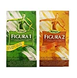 FIGURE 1/ FIGURA 1 (fruit and herbal laxative tea with senna) & FIGURE 2 / FIGURA 2 (fruit and herbal lacative tea with alder buckthorn). 2 pack , HERBAPOL. PRODUCT FROM POLAND. Natural ingredients. 2 x 20 tea bags.