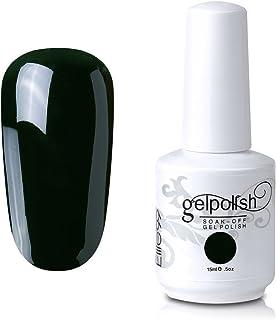 Qimisi Soak-Off Uv Led Gel Polish Nail Art Manicure Lacquer Dark Slategray 083 15Ml