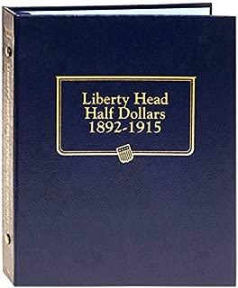 Whitman US Liberty Head (Barber) Half Dollar Coin Album 1892 - 1915 #9124