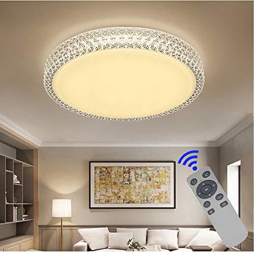 BFYLIN 64W ruimte LED plafondlamp Starlight Effect kristal sterrenlicht plafondlamp lamp lamp spaarlamp plafondverlichting mooie badlamp