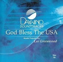 God Bless The USA Accompaniment/Performance Track