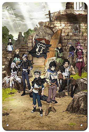 Aiami Kleis Black Clover Poster - Japan Anime Metal Poster 12