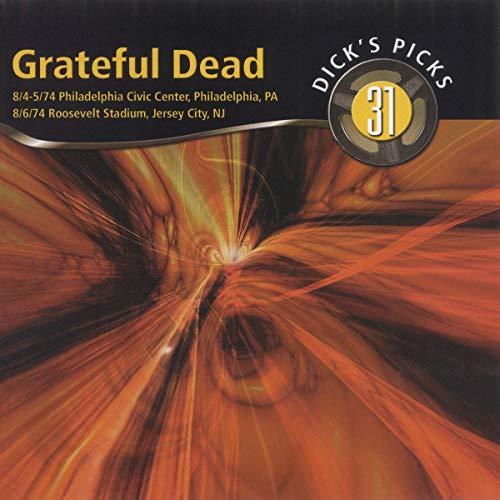Dick s Picks Vol. 31-8 4-5 Philadelphia Civic Center 8 6 74 Roosevelt Stadium (4-CD Set)