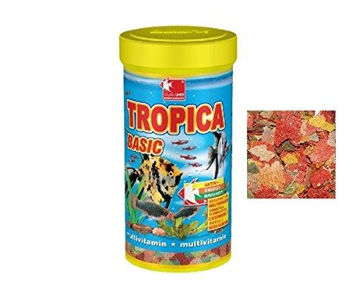 Dajana Tropica Basic - Mangime completo in 7 fiocchi diversi, per tutti i tipi di pesci tropicali (1000 ml)