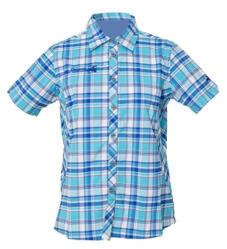DEPROC-Active Damen Hemd Funktionsbluse Sudbury, Light Blue, 36