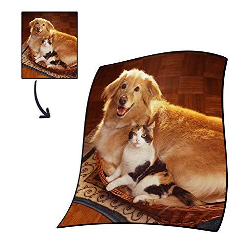 VEELU Custom Blanket Decken Wolldecken C...