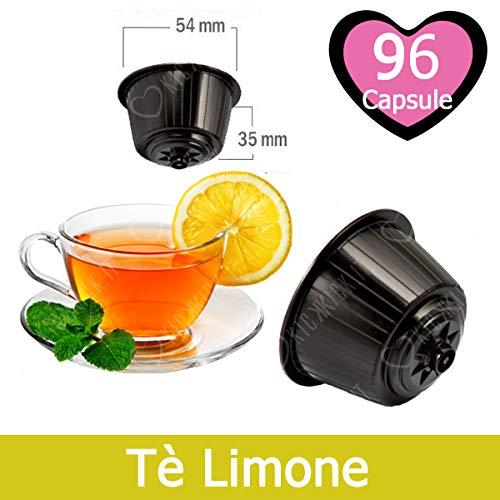 KICKKICK thee-capsules van citroen, compatibel met Nescafé Dolce Gusto, 96 Capsule