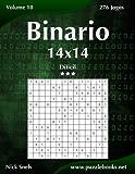 Binario 14x14 - Difícil - Volume 10 - 276 Jogos