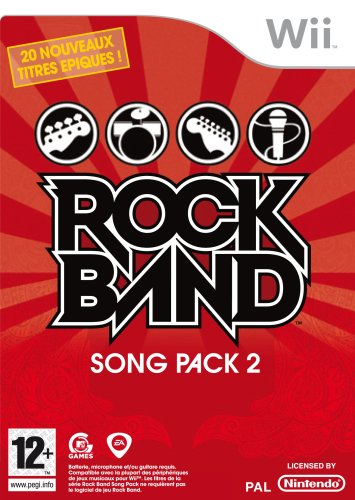 Electronic Arts Rock Band Song Pack 2, Wii - Juego (Wii)