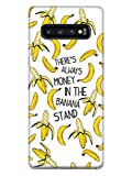 Inspired Cases - 3D Textured Galaxy S10 Case - Rubber Bumper Cover - Protective Phone Case for Samsung Galaxy S10 - There's Always Money in The Banana Stand