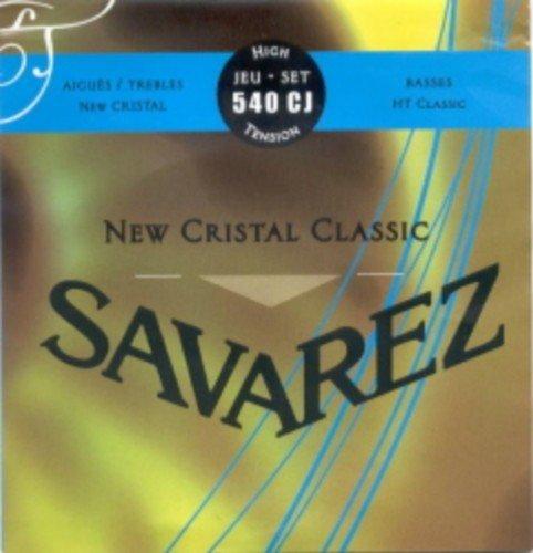 CUERDAS GUITARRA CLASICA - Savarez (540/CJ) New Crystal Classic Azul (Juego Completo)