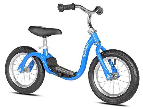 Kazam Kanam Neo Bicicleta de Equilibrio sin Pedales, Niños, Azul Brillante, 30,48 cm (12 Pulgadas)