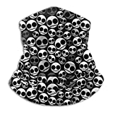 Agoyls Multifunktionstuch/Schlauchtuch/Halstuch, Neck Warmer Gaiter,Funny Emo Skull Stock Photo Motorcycle Face Mask Cover for Winter Cold Weather & Keep Warm
