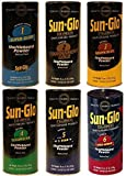 Table Shuffleboard Powder Sand - Sun-Glo Sampler Six-Pack