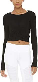 Bestisun Long Sleeve Crop Top Cropped Long Sleeve Workout Tops Cute Dance Crop Tops for Women