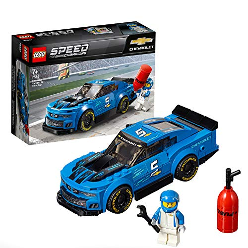 LEGO 75891 SpeedChampions DeportivoChevroletCamaroZL 1, Juguete de Construcción