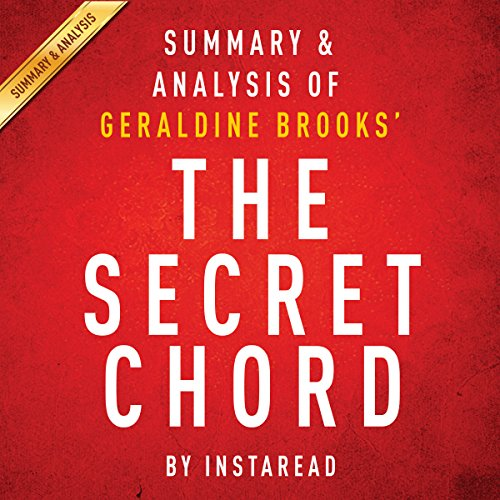 The Secret Chord, by Geraldine Brooks audiobook cover art