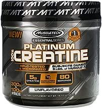 Muscletech Essential Series, Platinum 100% Creatine, Unflavored, 14.11 oz (400 g)