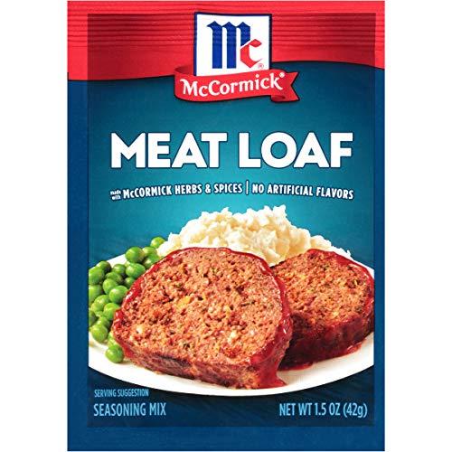 McCormick Meat Loaf Seasoning Mix, 1.5 oz (Pack of 12)
