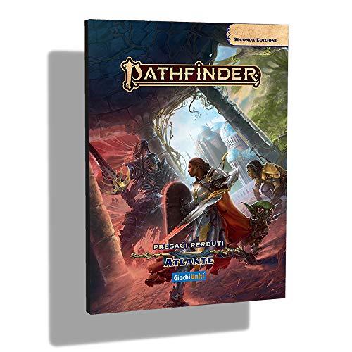 Giochi Uniti- Pathfinder 2-Presagi Perduti Atlante Gioco Compendio, Colore Illustrato, GU3610