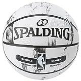 SPALDING(スポルディング)バスケットボール 7号 ラバー MARBLE COLLECTION( マーブルコレクション ) ホワイト NBA公認 83-635Z